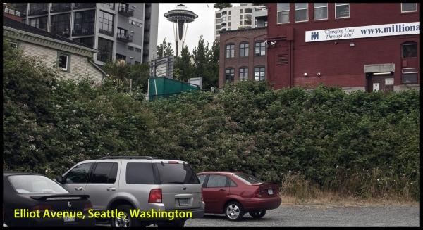 Stationnement privé, Seattle, Washington -- 7 juillet 2011