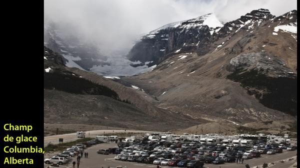 Champ de glace Columbia, Parc national de Banff, Alberta -- 21 juillet 2011