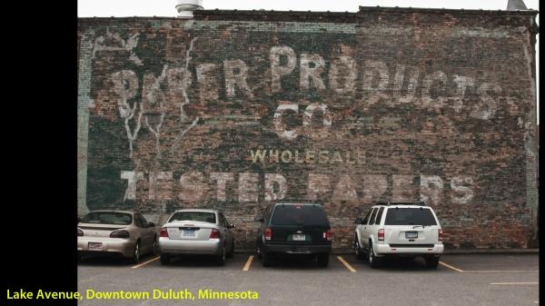 Stationnement public, Lake Avenue, Downtown Duluth, Minnesota -- 1 août 2011