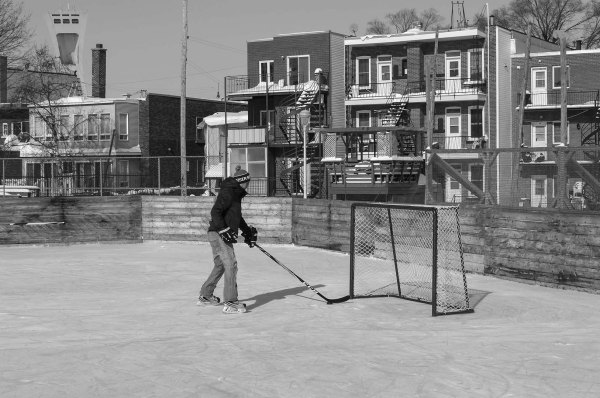 La patinoire du Parc Lalancette