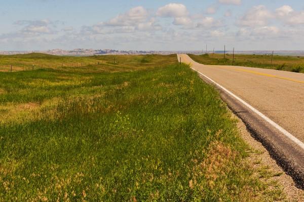Route 44, Réserve de Pine Ridge, Dakota du Sud