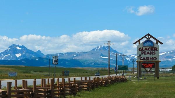 Route 89, Réserve des Blackfeet, Montana