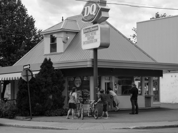 Le Dairy Queen, sur Beaubien