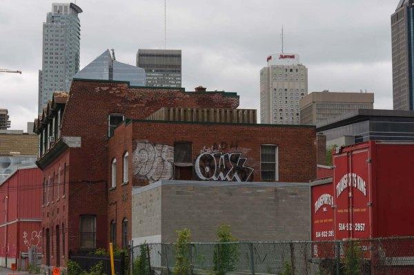 Rue Eleonor, vue de la rue Ottawa, Griffintown