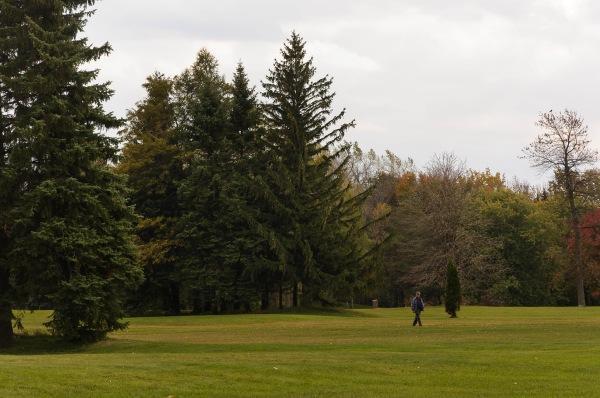 Fin octobre - Parc Maisonneuve
