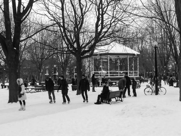 Au Parc Molson le dimanche après-midi