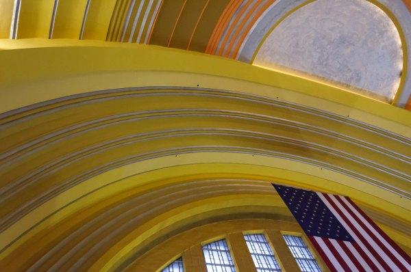 Cincinnati - Intérieur de la Union Terminal