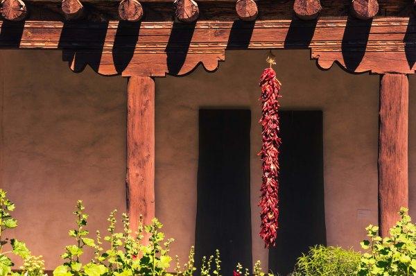 Santa Fe - Architecture - NM Art Museum - Cour intérieure