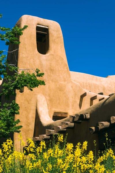 Santa Fe - Architecture - NM Art Museum - Vue de l'extérieur