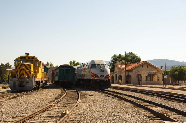Santa Fe - Le Rail Runner