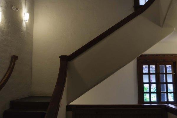 New Mexico Museum of Art - Escalier intérieur