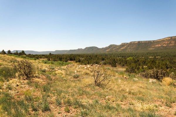 Le Col de Glorietta, à deux jours de distance de Santa Fe, au départ ou à la fin du voyage.