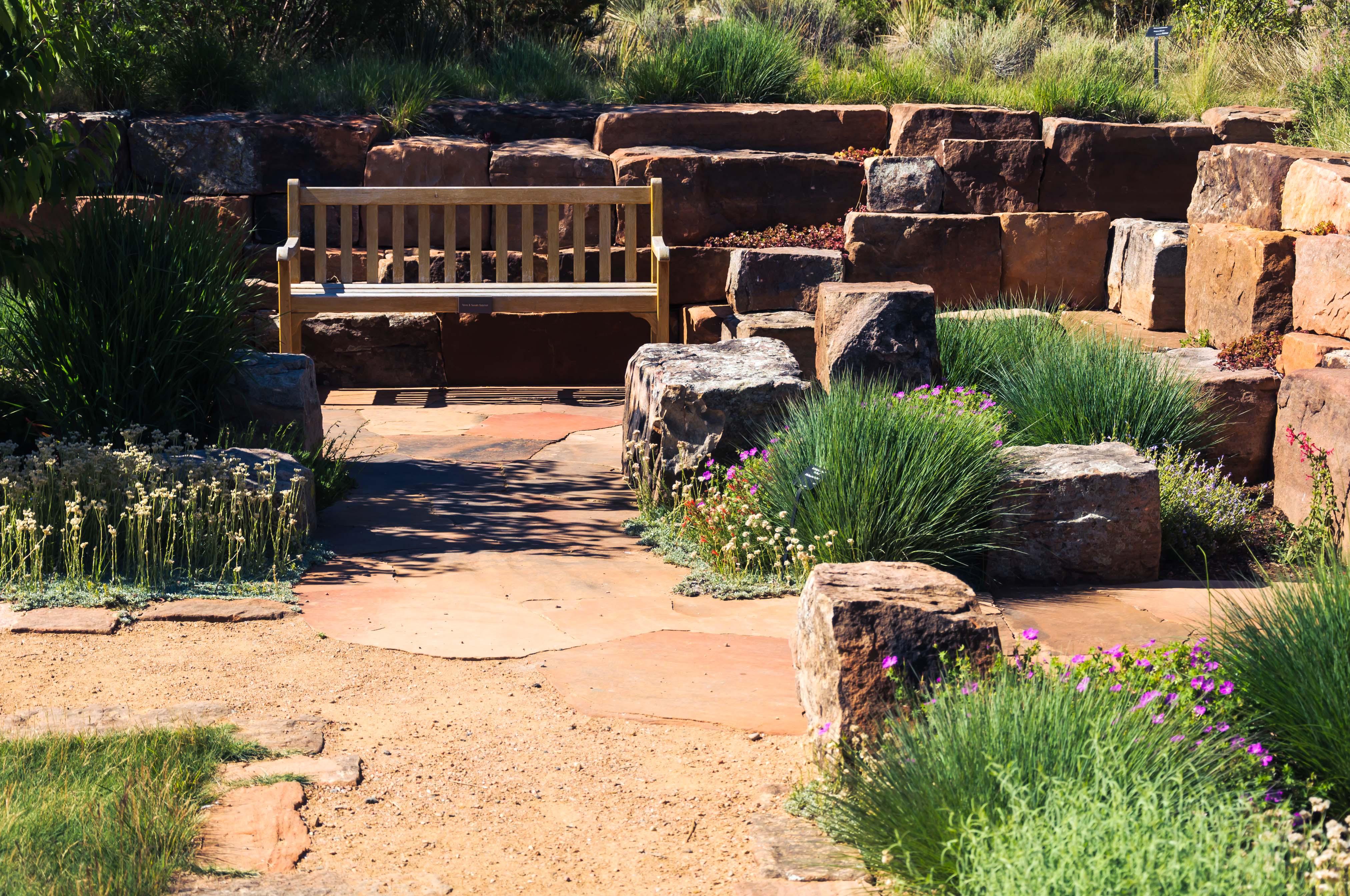 Santa Fe - Un coin du jardin botanique