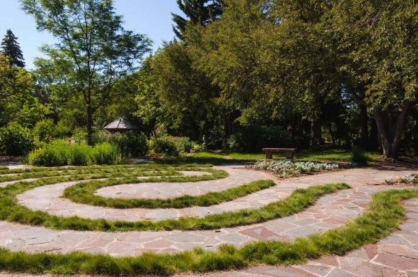 Jardin botanique de Cheyenne - Labyrinthe