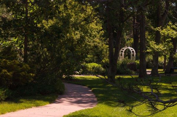 Jardin botanique de Cheyenne - Point de vue