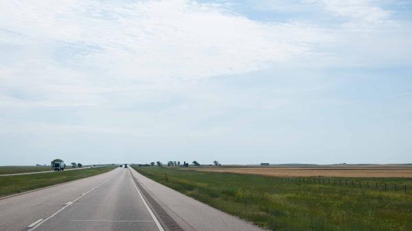 La route - I-80 - Nebraska