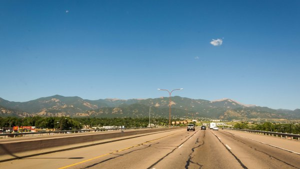 Route I-25 CO Zone urbaine