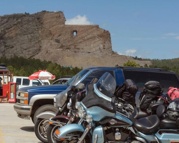 Monument commémoratif de Crazy Horse, au Dakota du sud ( photo : Fernan Carrière )