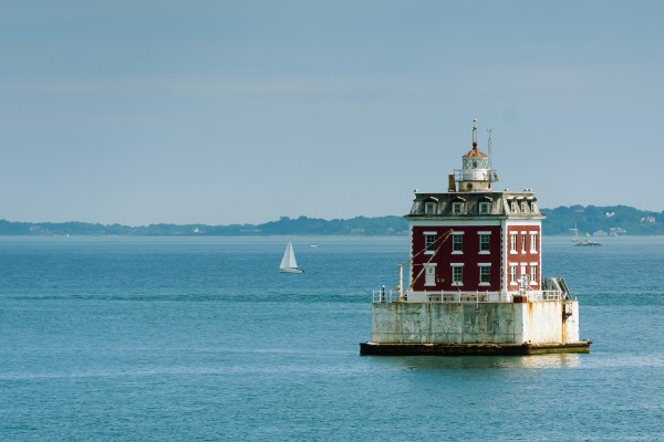 Le phare de New London Ledge